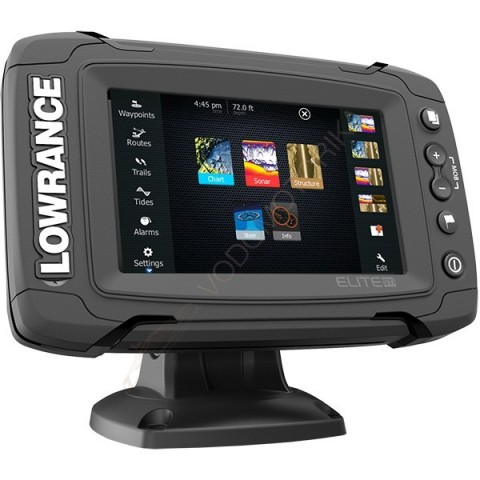 Картплоттер-эхолот Lowrance Elite-5Ti Mid/High/TotalScan
